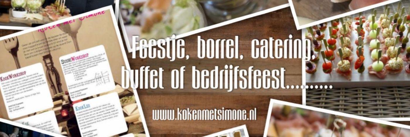 Koken met Simone | Catering in Wilnis | Cateraar.nl